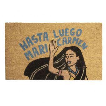 Felpudo Moderna de Pueblo - Hasta luego Mari Carmen