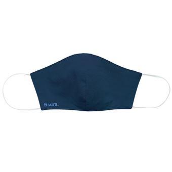 Mascarilla para adulto Fisura lavable azul