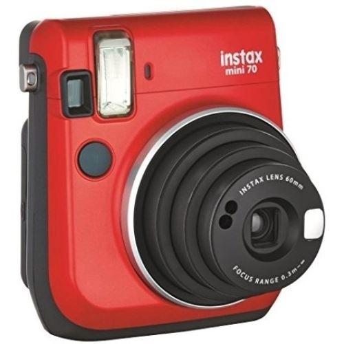 Cámara instantánea Fujifilm Instax Mini 70 Rojo + Carga