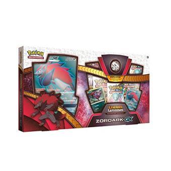 Caja Colección especial Pokémon JCC Zoroark-GX de Leyendas Luminosas