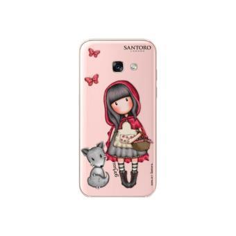 Funda Gorjuss Little Red Ridding para Samsung Galaxy A3 2017 Rosa