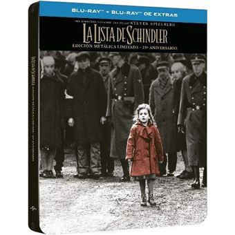 La Lista de Schindler - Steelbook Blu-Ray + Blu-Ray Extras