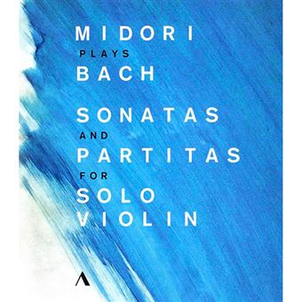 Midori Plays Bach - Sonatas And Partitas For Solo Violin - Blu-Ray