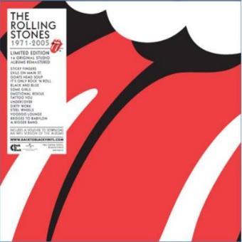 The Rolling Stones 1971-2005 Ed Remasterizada Super Deluxe - Vinilo