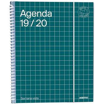 Agenda Universal 2019-2020 Additio Semana vista verde