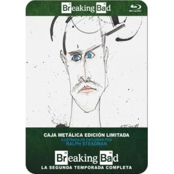 Breaking Bad  Temporada 2 - Steelbook Blu-Ray