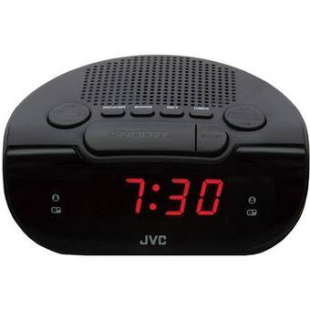 Radio despertador JVC RA-F120B Negro