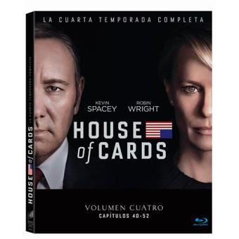 House of Cards - Temporada 4 - Blu-Ray