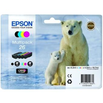 Epson 26 Multipack tinta negro + color