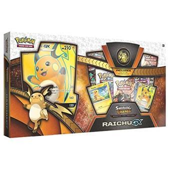 Colección especial Pokémon JCC Raichu-GX de Leyendas Luminosas
