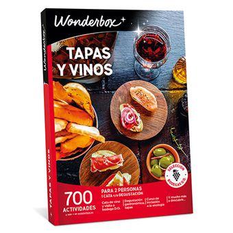 Wonderbox 2018 Tapas y vinos