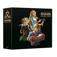 Legend Of Zelda Concert 2018 - 2 CD + Blu-Ray Ed limitada