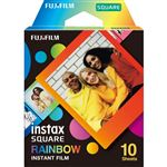 Película Fujifilm Instax Square Arcoiris Pack 10