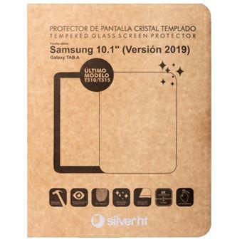 Protector de pantalla Silver HT Cristal templado para Samsung TAB A 2019 (T510/T515)