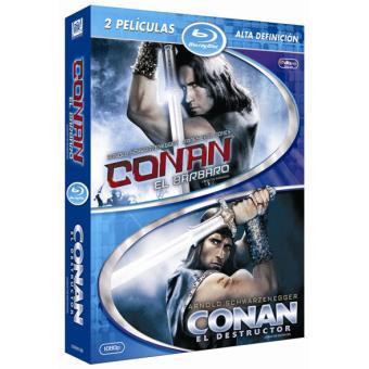 Pack Conan, el bárbaro + Conan, el destructor - Blu-Ray
