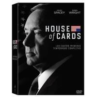 House of Cards  Temporadas 1 - 4 - DVD