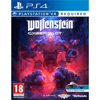Wolfenstein Cyberpilot - VR PS4