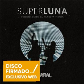 Superluna 2 CDs + DVD - Disco Firmado
