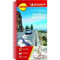 España y Portugal 2019 - Atlas de carreteras y turístico