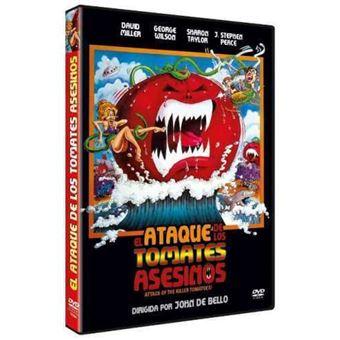 El ataque de los tomates asesinos - DVD
