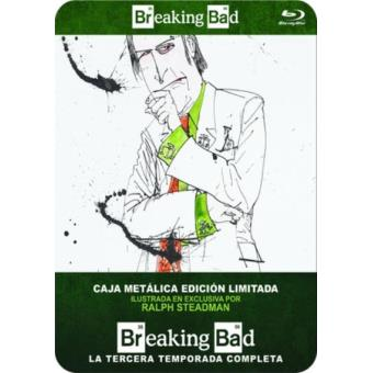 Breaking Bad - Temporada 3 - Steelbook Blu-Ray