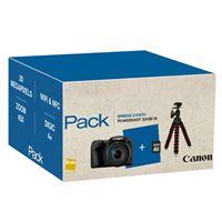 Cámara compacta Canon PowerShot SX430 IS Negro Pack