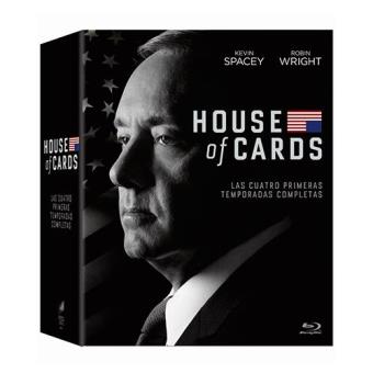 House of Cards  Temporadas 1 - 4 - Blu-Ray