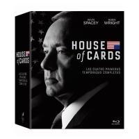 House of Cards  Temporadas 1 - 4 - Blu-Ray