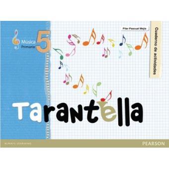 Tarantella 5 pack cuaderno actividades