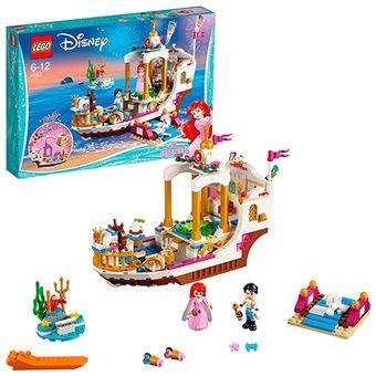 LEGO Disney Princess La Sirenita 41153 Barco real de ceremonias de Ariel