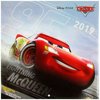 Calendario 2019 Disney Cars