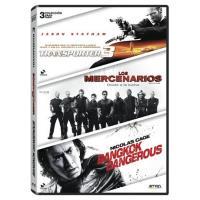 Pack Transporter 3 + Los mercenarios + Bangkok Dangerous - DVD