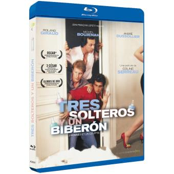 Tres solteros y un biberón - Blu-Ray