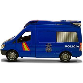 Furgón de la Policía Nacional con luz y sonido Dickie