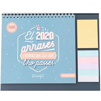 Mr Wonderful Calendari de Sobretaula – El 2020 arreses i ja veurás que bé que t'ho passes