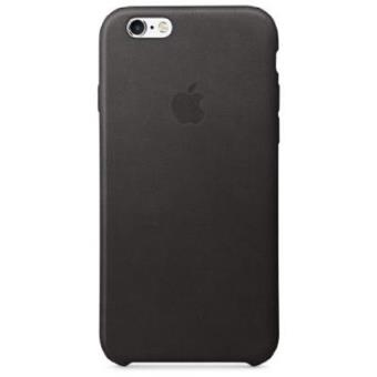 Funda Apple Leather Case para el iPhone 6s Negro