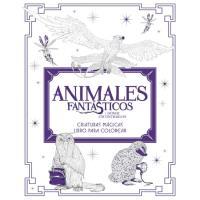 Animales fantásticos y dónde encontrarlos: criaturas mágicas. Libro para colorear