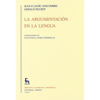 La argumentación en la lengua
