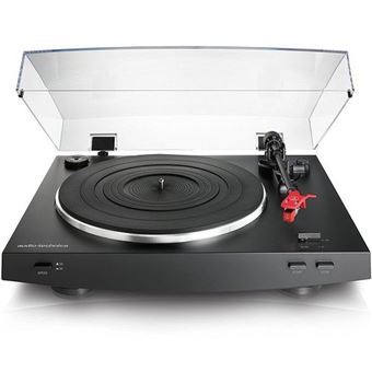 Tocadiscos Audio Technica AT-LP3BK Negro (Producto Reacondicionado)