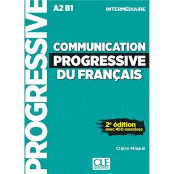 Communication Progressive du Français - Livre + CD audio - A2-B1