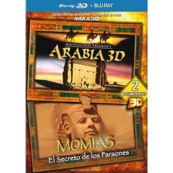 Pack Arabia + Momias: El secreto - Blu-Ray + 3D