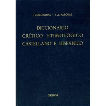 Diccionario critico etimologico 2 - ce-f