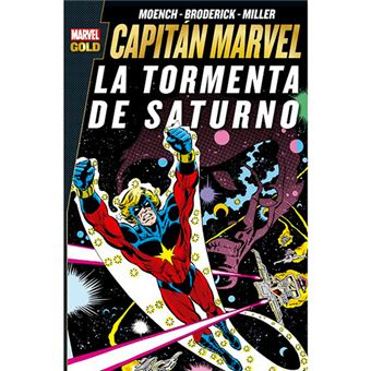 Capitán Marvel - La tormenta de Saturno