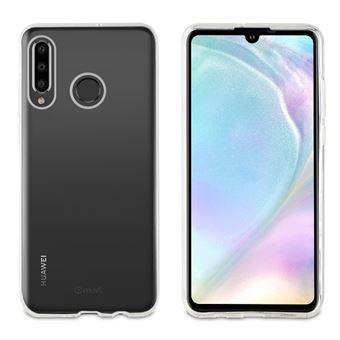 Funda Muvit Cristal Soft Transparente para Huawei P30 Lite
