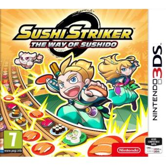 Sushi Striker: The Way Of Sushido Nintendo 3DS