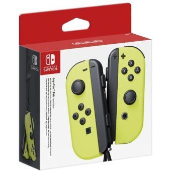 Mando Set Joy-Con amarillo Nintendo Switch