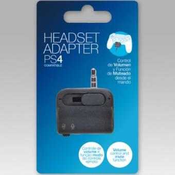 Adaptador auriculares PS4