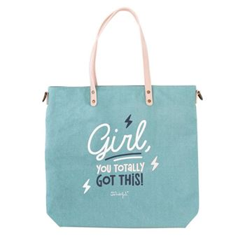 Mr Wonderful Tote bag - Girl, you totally got this!