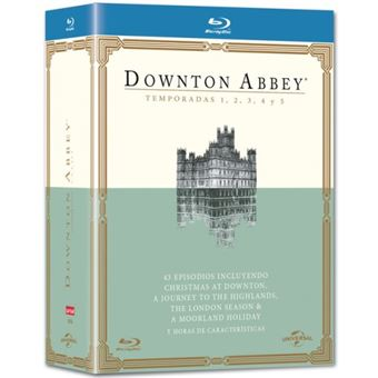 Downton Abbey  Temporada 1 -5 - Blu-Ray