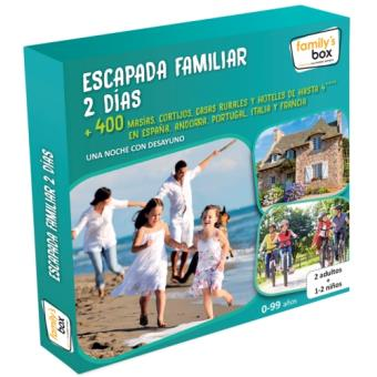 Caja Regalo Kiddy's box - Escapada Familiar 2 Días